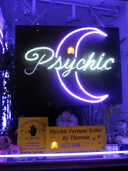 Photo of Storefront Psychic fortuneteller in Downtown Crossing, Boston