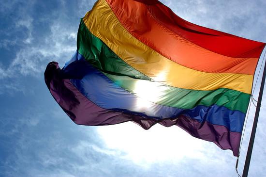 Rainbow Flag License: Creative Commons