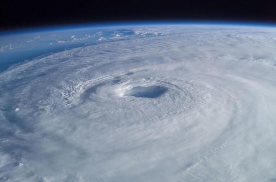 The calm center inside of Hurricane Isabel License: Public Domain (NASA Photograph)