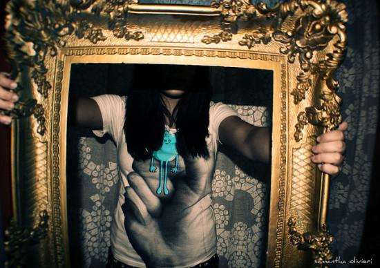 Framed but not Ashamed! Photo by Samantha Olivieri  License: Creative Commons